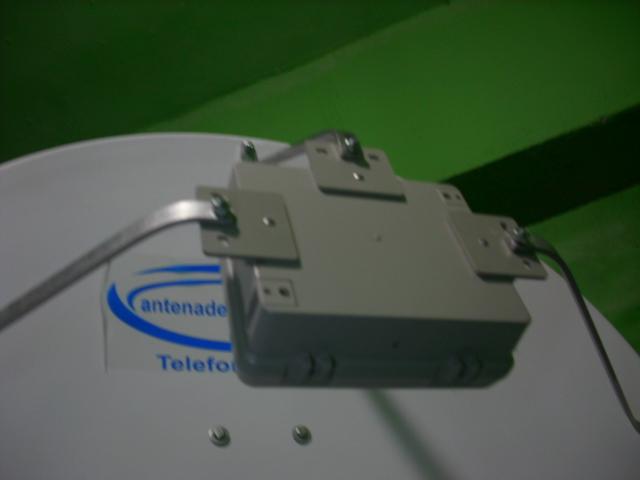 Antena  Parabólica Celular Rural ou 4g 50 dbi Sólida em Alumínio